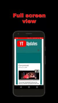 Youtube Updates screenshot 2