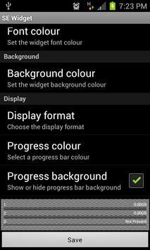 SEWidget - StorageEther Widget screenshot 1