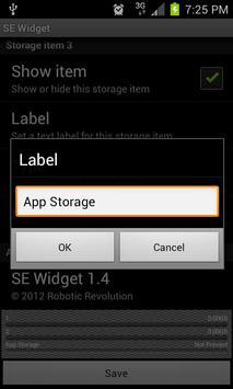 SEWidget - StorageEther Widget screenshot 3