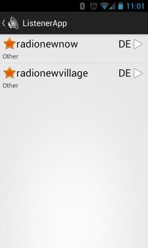 ListenerApp screenshot 1