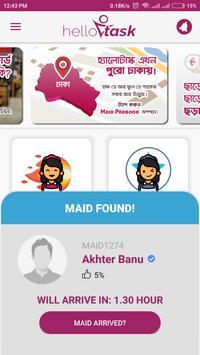 hellotask.app (ex RobotDako) - Maid Service screenshot 1