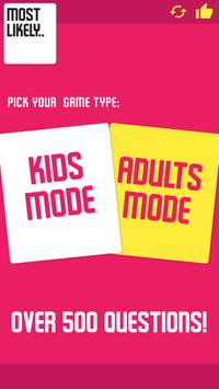 Most Likely - Best Party Game apk screenshot