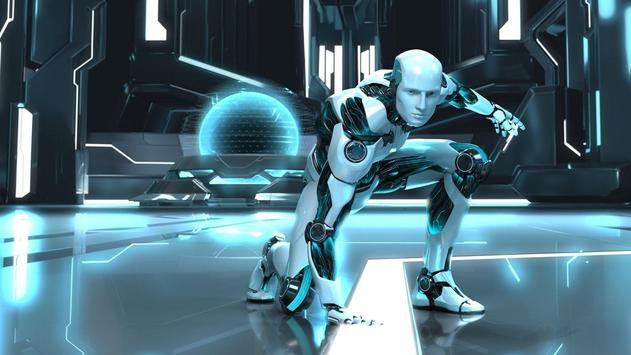 Character Robot Wallpaper HD screenshot 1