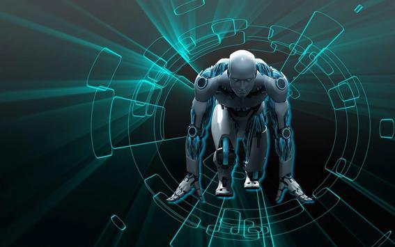 Character Robot Wallpaper HD screenshot 5