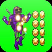 Robot Turtle Superhero icon