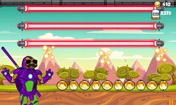 Robot Turtle Superhero screenshot 2