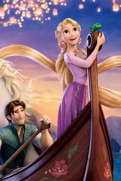 Tangled Rapunzel Live Wallpaper poster