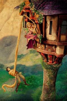 Tangled Rapunzel Live Wallpaper screenshot 1