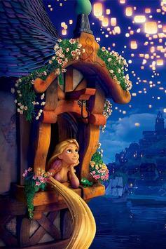Tangled Rapunzel Live Wallpaper screenshot 3