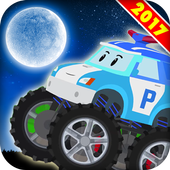 Night Robocar Poli Game icon