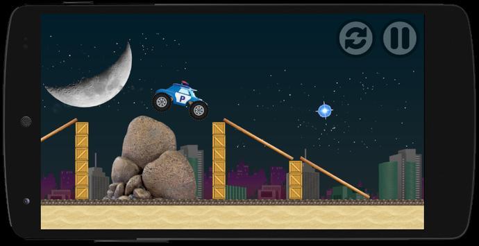 Night Robocar Poli Game apk screenshot