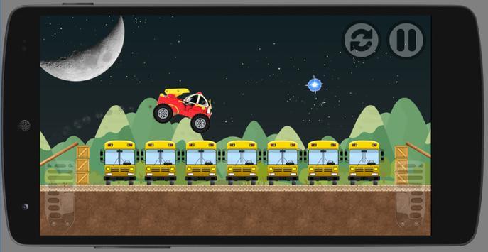 Night Robocar Roy Game apk screenshot