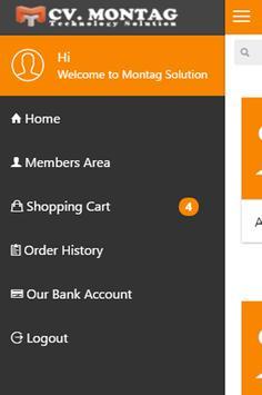 Montag Solution App screenshot 1
