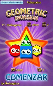 Geometric Invasion poster