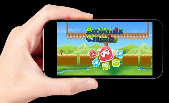 Rabbids Crazy Climb Fast apk screenshot
