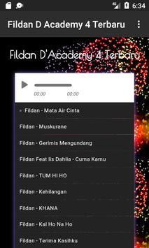 Lagu Fildan DA4 Terbaru apk screenshot