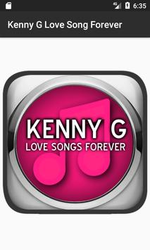 Kenny G Love Song Forever poster