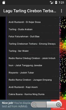 Lagu Tarling Cirebonan Terbaru apk screenshot