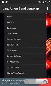 Lagu Ungu Band Lengkap screenshot 5