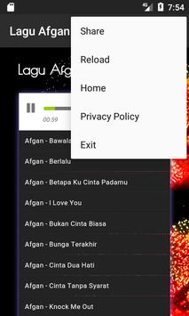 Lagu Afgan Mp3 Lengkap apk screenshot