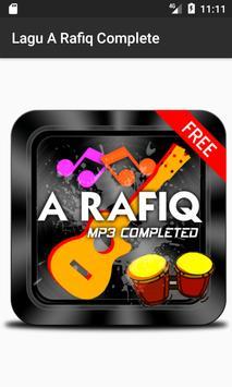 Lagu A RAFIQ Terpopuler poster