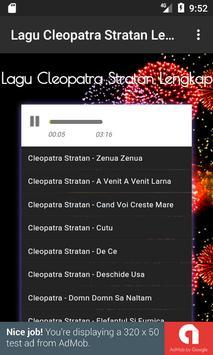 Lagu Cleopatra Stratan Lengkap apk screenshot