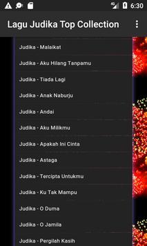 Lagu Judika Top Collection apk screenshot