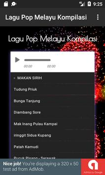 Lagu Pop Melayu Kompilasi screenshot 1