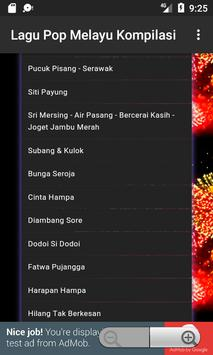 Lagu Pop Melayu Kompilasi screenshot 2