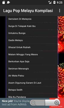 Lagu Pop Melayu Kompilasi screenshot 4