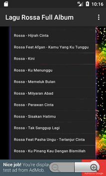 Lagu Rossa Full Album apk screenshot