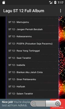 Lagu ST 12 Full Album apk screenshot