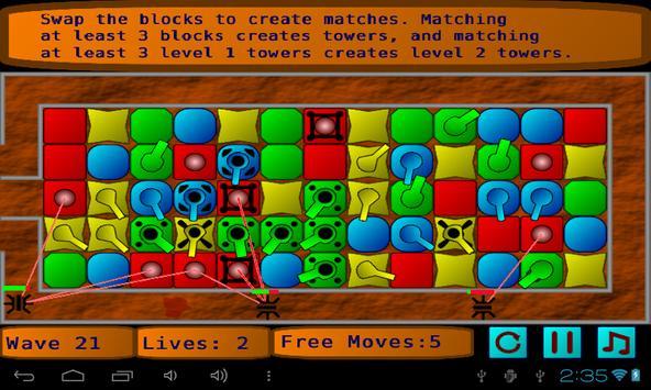 Match Puzzle Defense screenshot 1