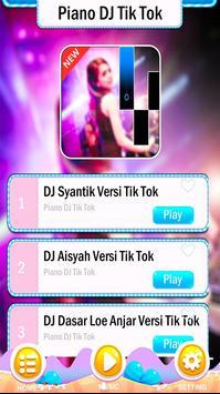 Piano DJ Tik Tok Tiles poster
