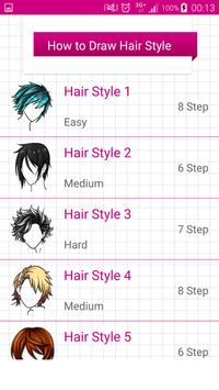 Learn To Draw Hairstyles II screenshot 1