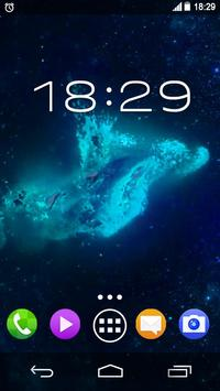 Beautiful Neon Dolphins LWP apk screenshot