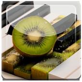 Kiwi Strawberry Piano Live WP icon