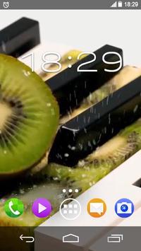 Kiwi Strawberry Piano Live WP poster