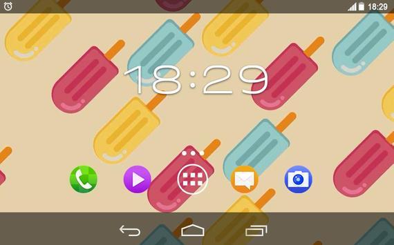 Summer Ice Sweets Live WP screenshot 4