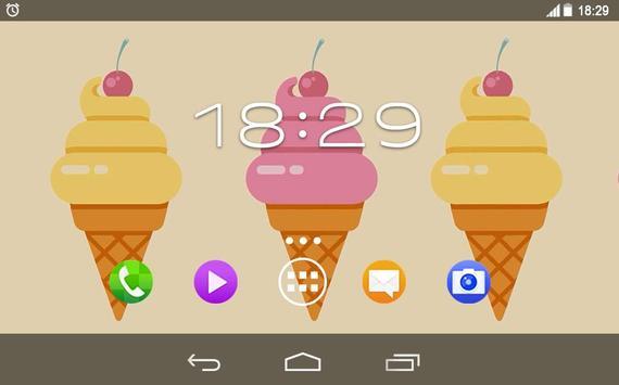 Summer Ice Sweets Live WP screenshot 5