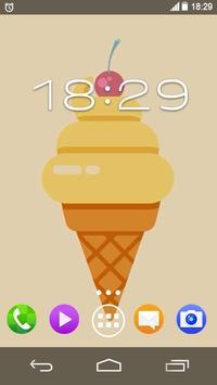 Summer Ice Sweets Live WP screenshot 2