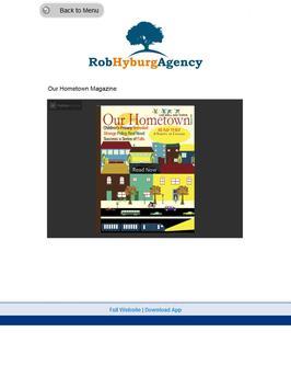 Rob Hyburg Agency screenshot 4