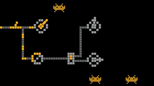 Space invaders - logic puzzles poster