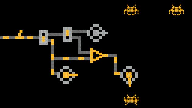 Space invaders - logic puzzles 1 0 1 (Android) - Download APK