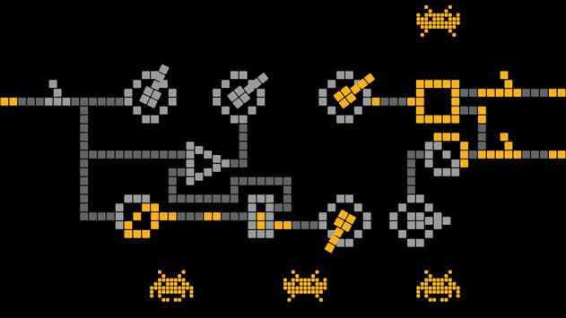 Space invaders - logic puzzles screenshot 2
