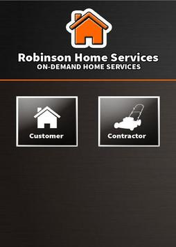 Robinson Home Services apk screenshot