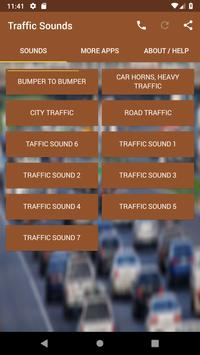 Traffic Sounds poster