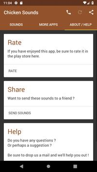 Chicken Sounds apk screenshot