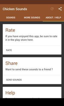 Chicken Sounds apk screenshot