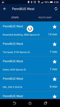 UPenn Transit screenshot 1